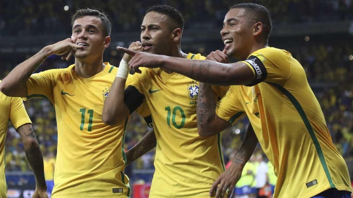 FIFA - 2018. Тарих пен бүгін. Бразилия құрамасы