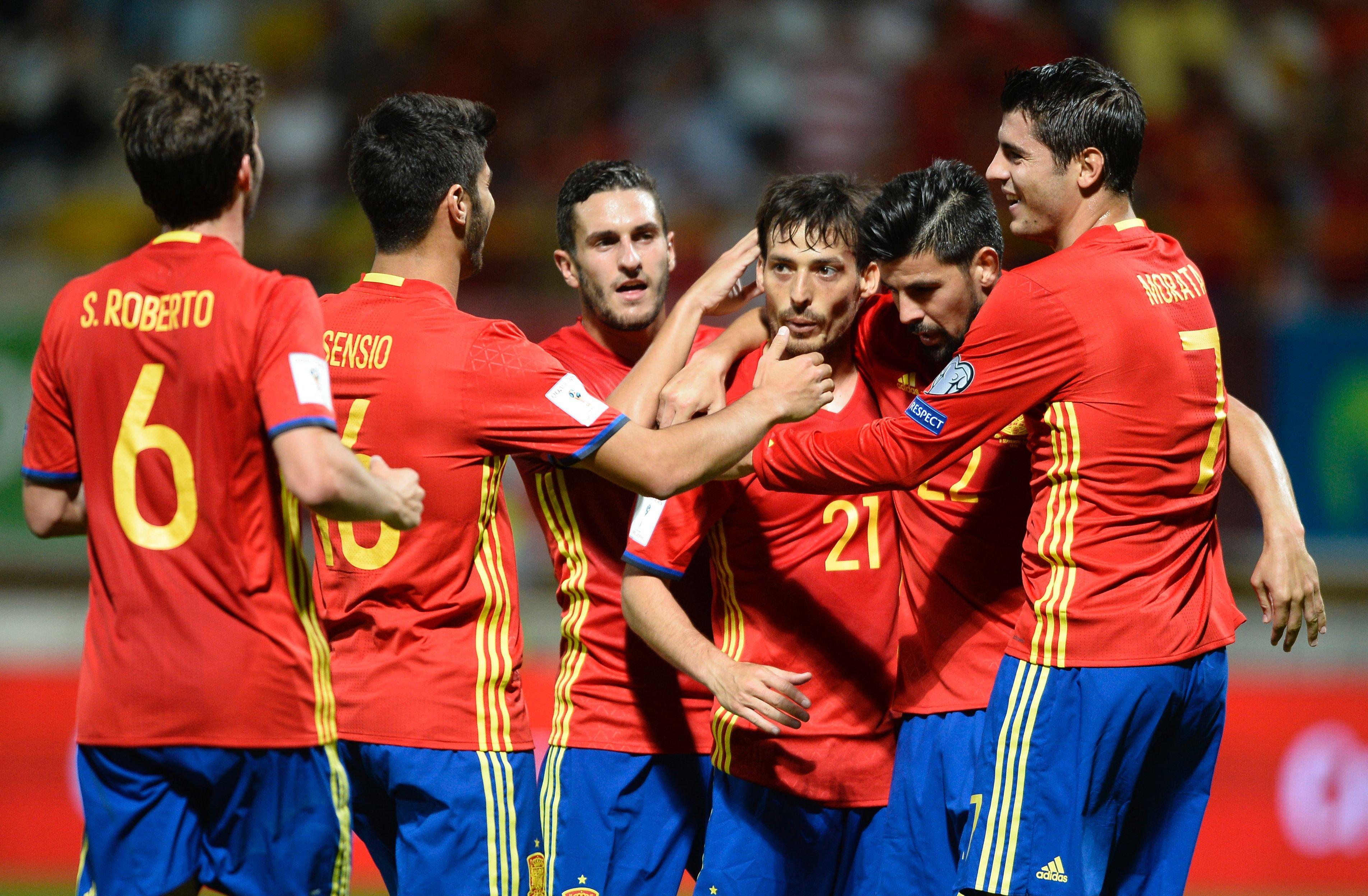 FIFA - 2018. Тарих пен бүгін. Испания құрамасы