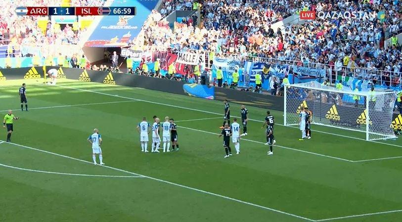 FIFA-2018. Аргентина мен Исландия құрамалары тең түсті
