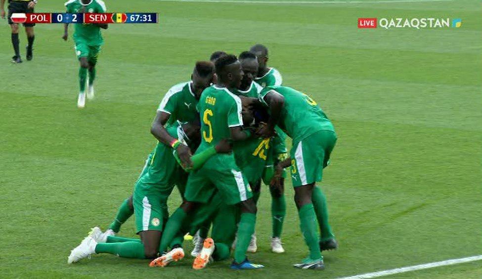 FIFA-2018.  Сенегал құрамасы Польшадан басым түсті