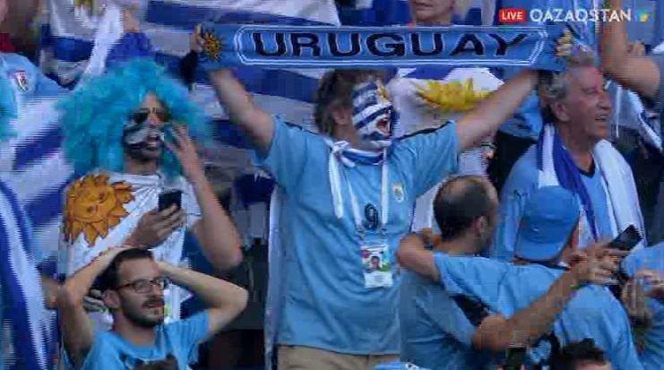 FIFA – 2018.  Уругвай құрамасы 1/8 финалға шықты