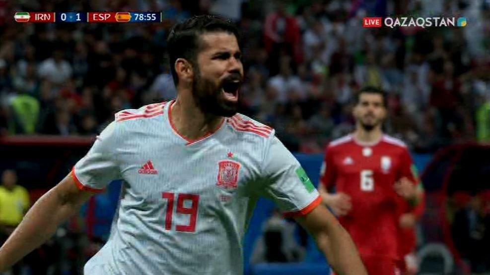 FIFA – 2018.  Испания құрамасы ирандықтардан басым түсті