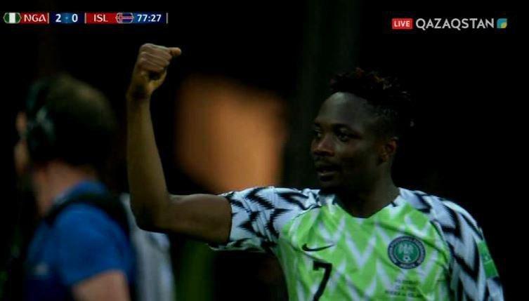 FIFA – 2018.  Нигериялықтар Исландиядан басым түсті