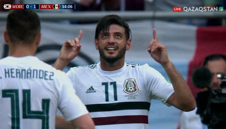 FIFA – 2018.  Мексикалықтар Әлем чемпионатындағы екінші жеңісіне жетті