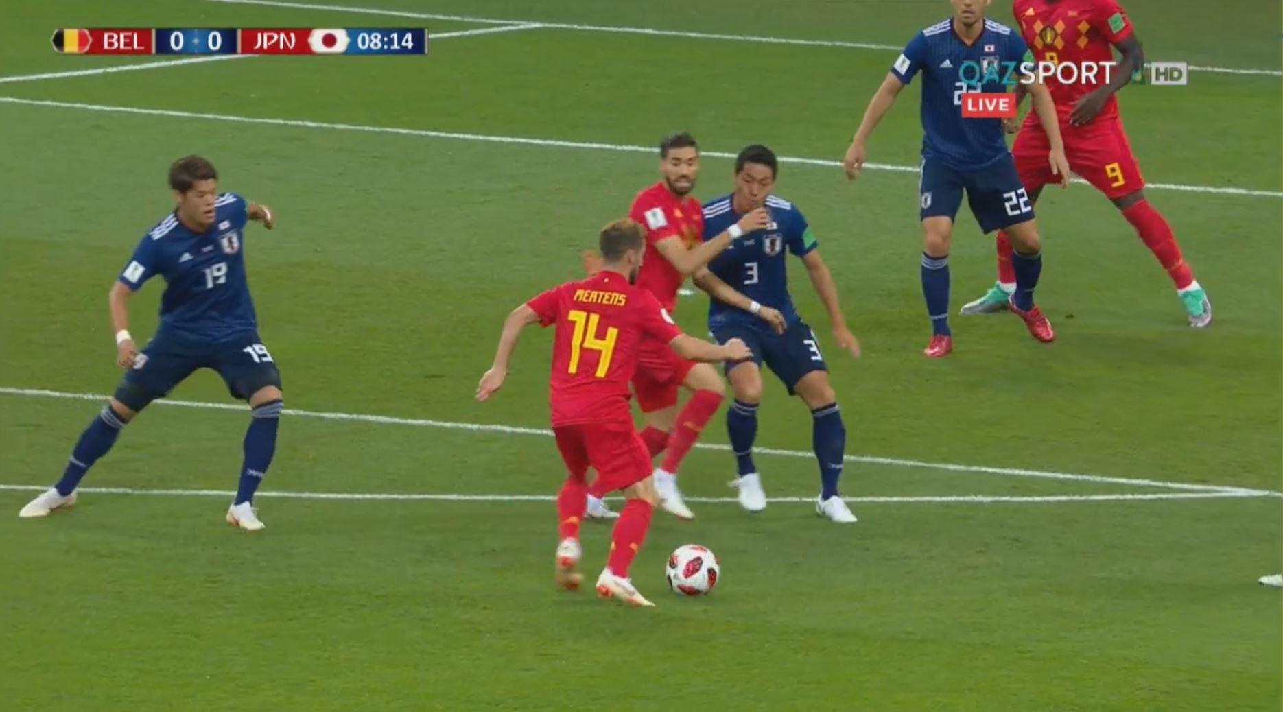 FIFA – 2018.  Бельгия құрамасы Жапонияны тізе бүктірді