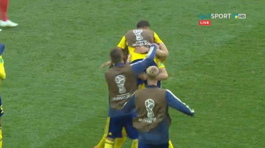 FIFA-2018.  Швеция құрамасы ширек финалға жолдама алды