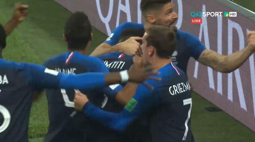 FIFA – 2018.  Франция құрамасы ӘЧ финалына жолдама алды