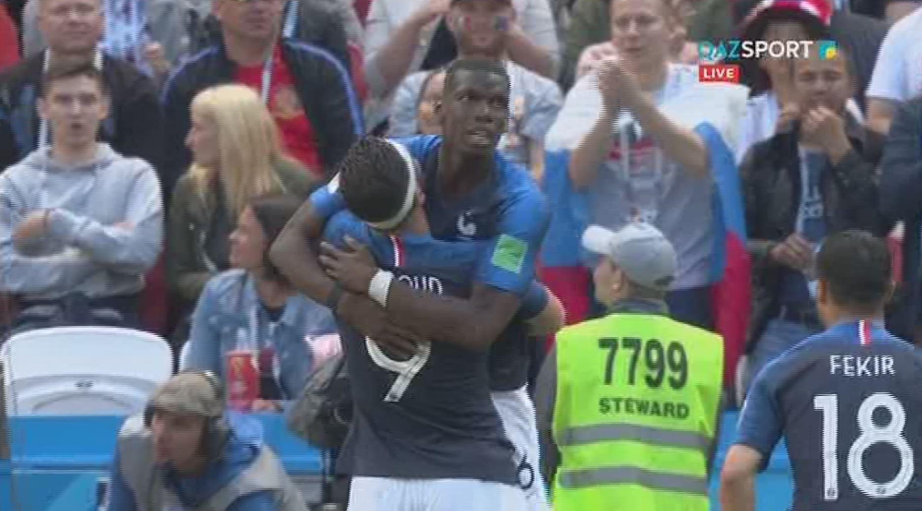 ЧМ - 2018. Гол Погба принес победу Франции над Австралией