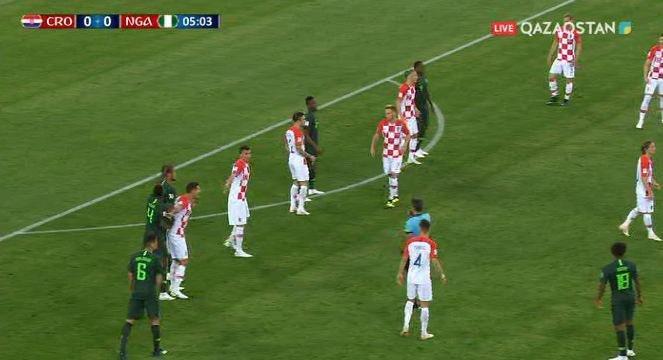 Хорватия на классе обыграла Нигерию
