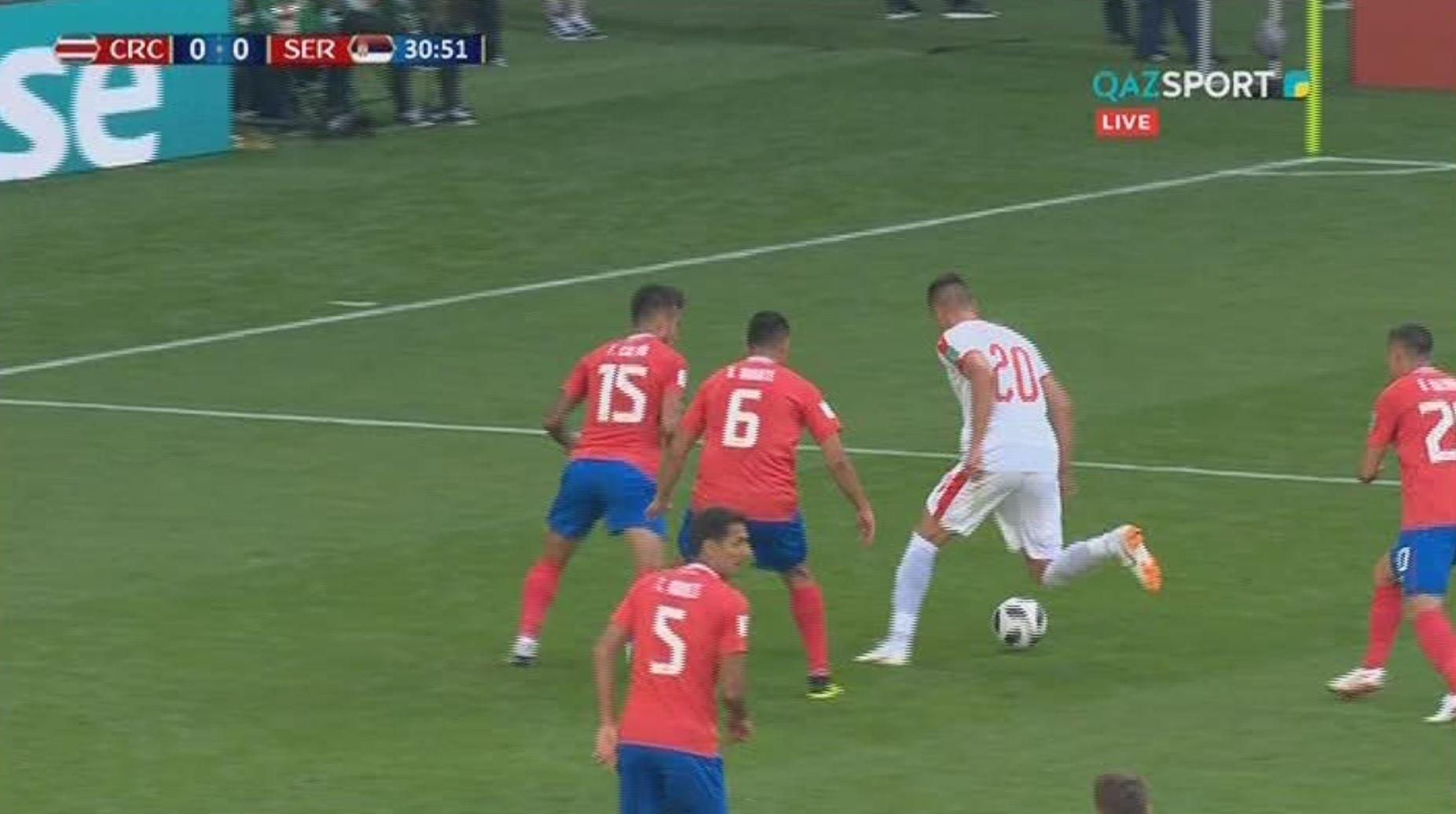Гол Коларова принес победу Сербии над Коста-Рикой
