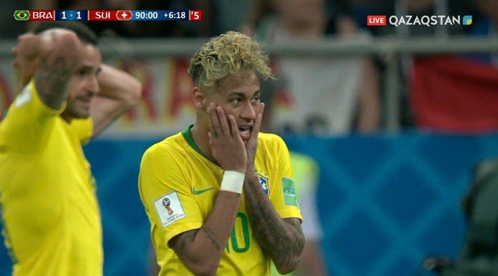ЧМ-2018. Бразилия теряет очки в первом туре