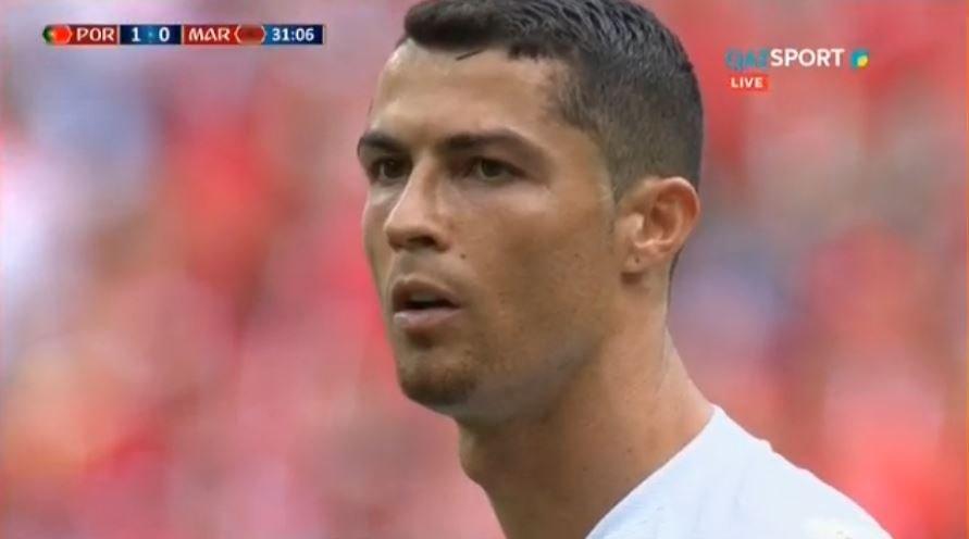 Португалия выиграла 1:0 у Марокко благодаря голу Криштиану Роналду