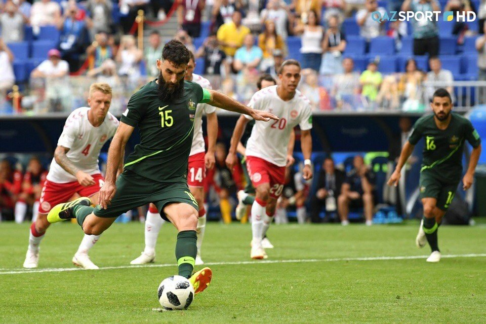 Дания и Австралия сыграли вничью в матче ЧМ-2018