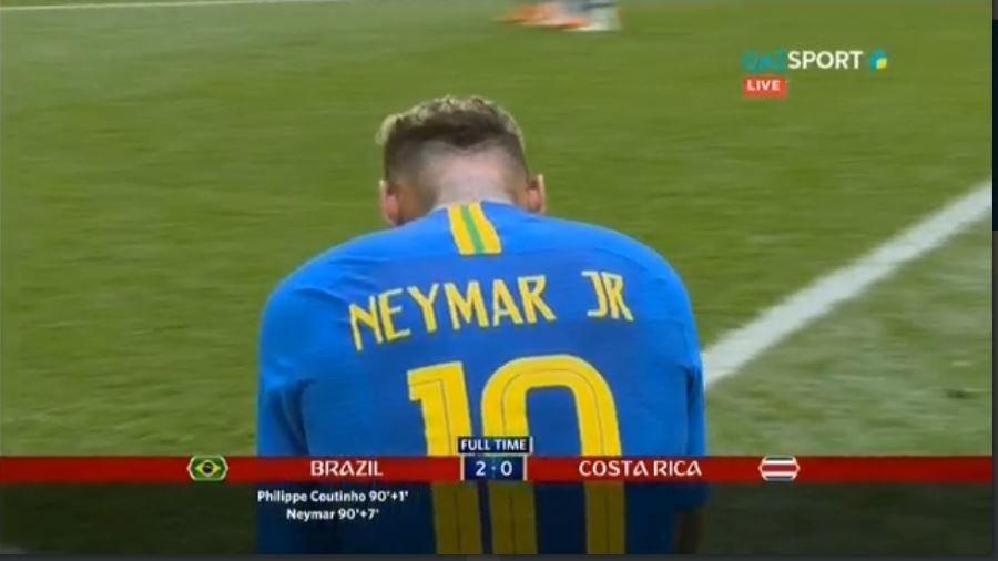 Бразилия победила Коста-Рику в матче ЧМ-2018