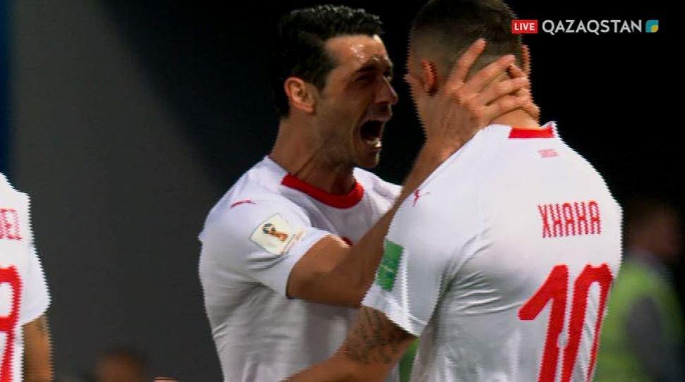 Швейцария победила Сербию в матче группового этапа ЧМ-2018