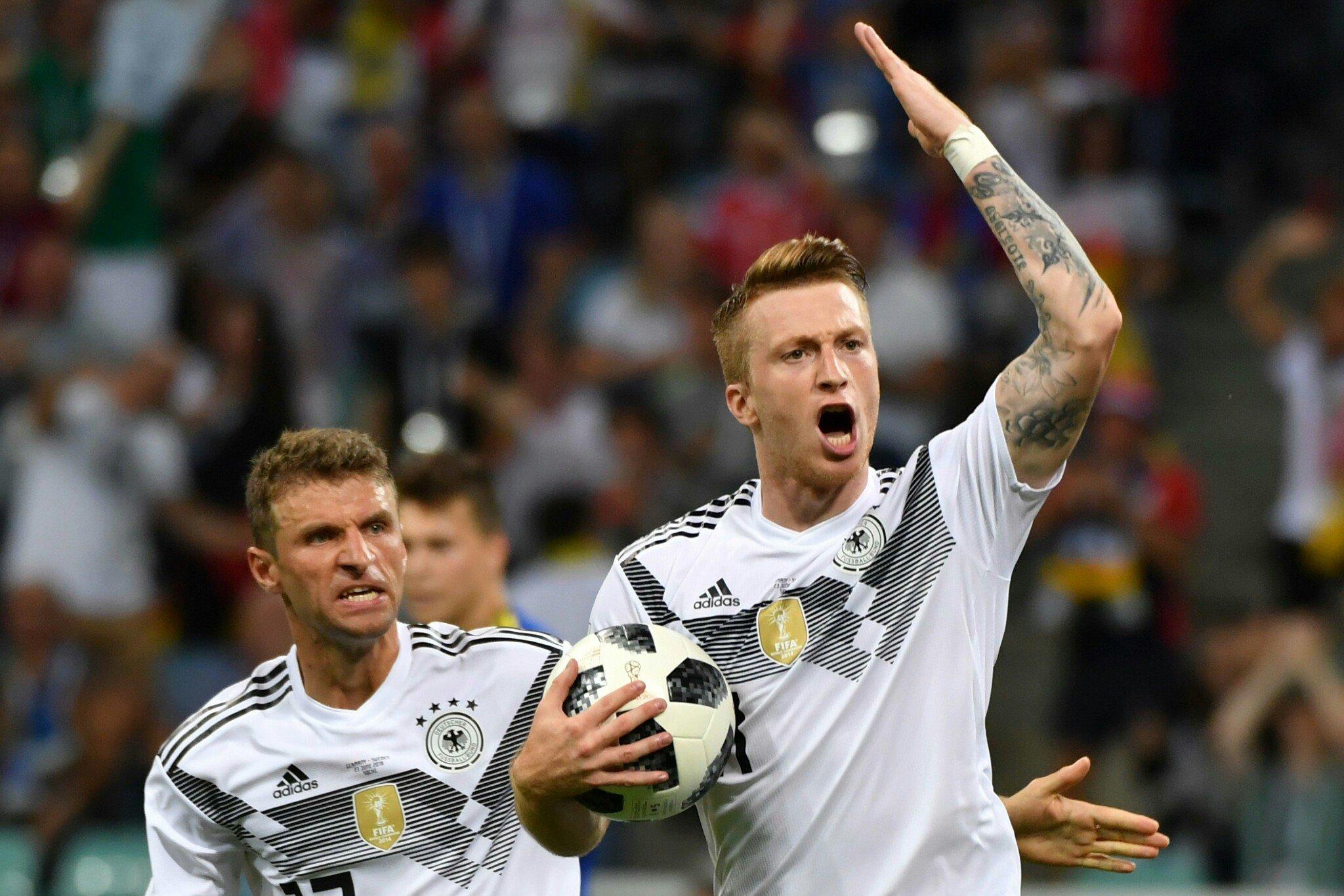 Германия обыграла Швецию и сохранила шансы на плей-офф