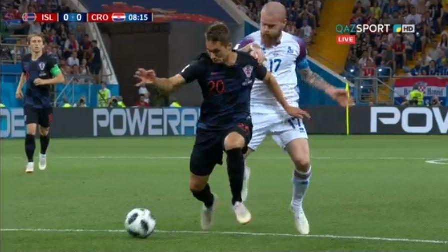 Сборная Хорватии обыграла Исландию