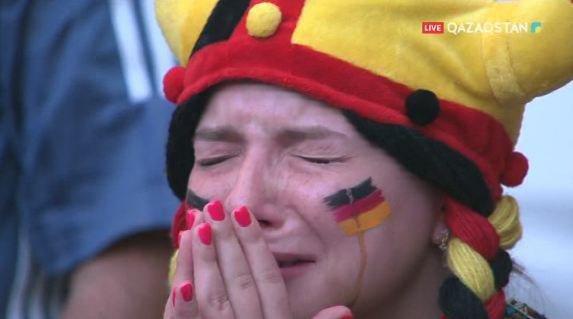 Сборная Германии вылетела с чемпионата мира