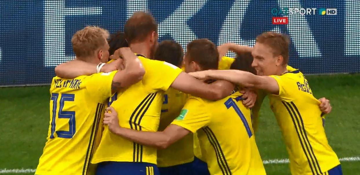 Швеция разгромила Мексику и с первого места вышла в плей-офф ЧМ-2018