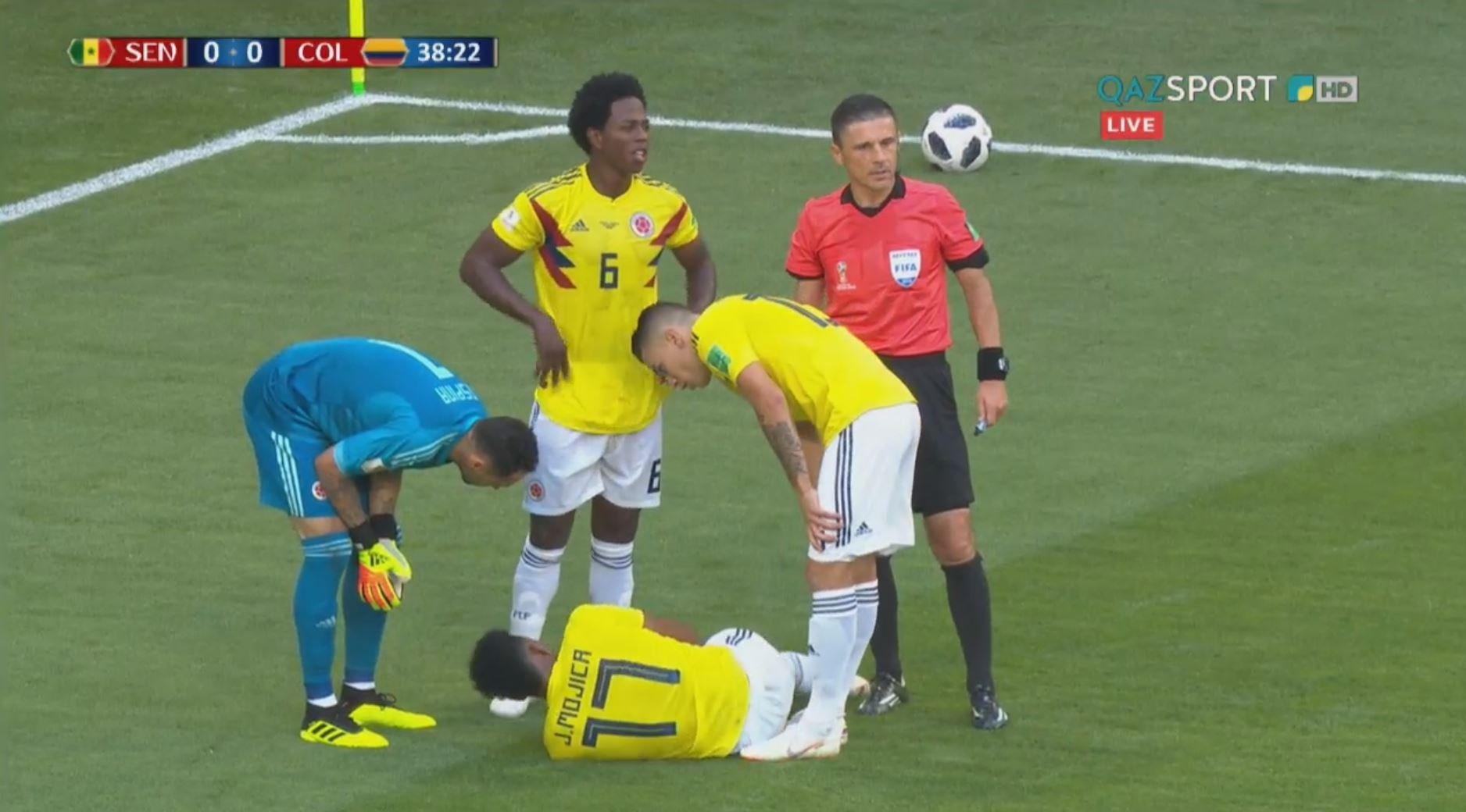 Колумбия обыграла Сенегал и вышла в плей-офф ЧМ