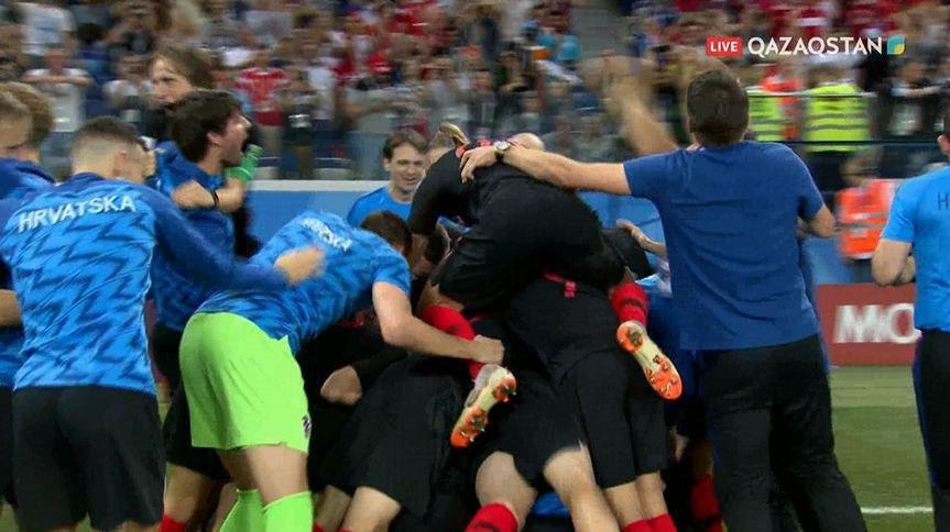 Сборная Хорватии обыграла Данию в серии пенальти и вышла в 1/4 финала ЧМ-2018