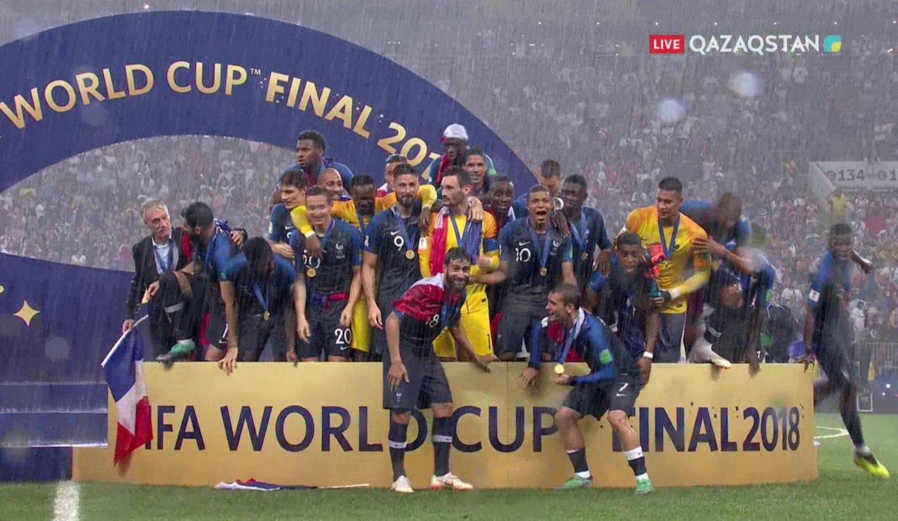 Франция - чемпион мира по футболу 2018